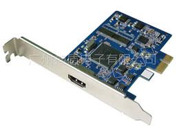 Xbox caméra vidéo en Ligne-Carte de capture vidéo PCI-E TO HDMI de haute qualité Utilisation de carte d'acquisition vidéo pour TV \ XBOX \ machine de jeu \ HD Player \ Camera