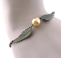 Achat gratuit Harry Potter le snitch Bracelet Bricolage Bijoux cadeaux charme bracelets main accessoires à partir de boutiques de charme fabricateur