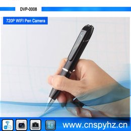 Spy 720P HD Wireless WiFi pen camera Hidden Pen Video Camera for Android and IOS, H.264 Mini WiFi Pen With Built-in Camera DVR