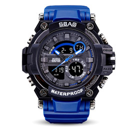2017 Mens Brand Luxury Sports Watches with metal box Outdoor Multifunction Wristwatch G Men's Clock Shock Watch From China kol saati