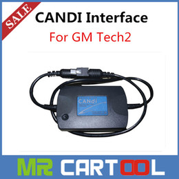 Wholesale 2015 Newly Top Quality GM TECH2 CANDI Interface module for GM tech2 auto diagnostic connector adaptor Fast