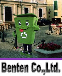 Wholesale Recycling garbage cans mascot clothing adult size of the garbage barrel animation clothing ad Ma disguise LLFA4049F