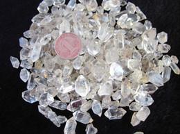 Wholesale Diamond crystal natural white crystal festoon nunatak granule crystal tea a