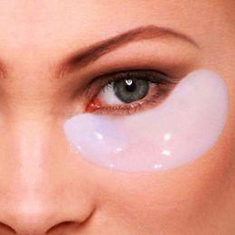 Wholesale-New 10 pcs Crystal Collagen Eye Mask Sheet Packs Anti Wrinkles,Dark Circles,Bags # M01088