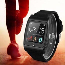 Wholesale UWatch UX heart rate monitorring smart watch G magsensor gravity sensor android smartwatch phone sports bluetooth wristwatch