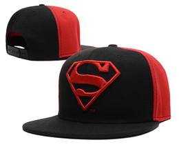2016 vente chaude enfants superman super-héros casquette de baseball Mode enfants Summer Snapback Sun Caps Hip-hop Chapeaux Casquettes enfants Caps 50-55cm TX à partir de hip hop enfant fournisseurs