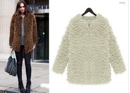 Plus size XL Women Winter Faux Fur Warm Overcoat Cheap price Coat Female White Black Camel 2014 Fashion Zipper Long Coat Jackets