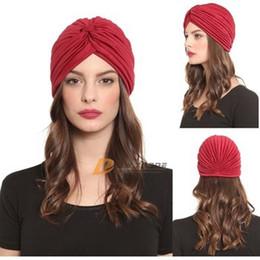 woman Female india flexible caps girls fashion turban yoga top caps men women terylene skull hats girl hat J111206#
