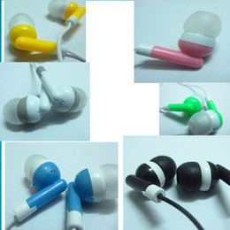 Wholesale 3 mm Studio In ear Earphone Headset Audifonos Headphones Earbuds Auriculares For DJ Mp3 Mp4 Player Phone Music