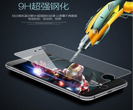hot! Tempered Glass Screen Protector 0.33mm 2.5D Explosion Proof Screen Film Guard For iPhone