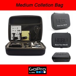 Wholesale Medium size new Travel Storage collection bag Case for GoPro Hero Action Camera Accessories with Hero Logo