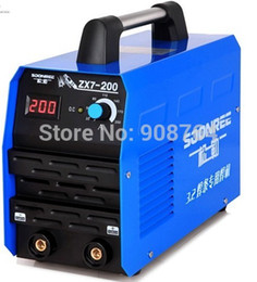 Wholesale Hot Selling welding machine ZX7 Copper core portable small household inverter DC MMA welder arc welder IGBT long welding electrode