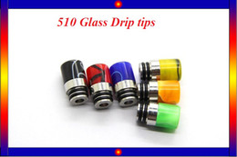 Puffs 510 Glass Globe drip tips for e cigs Acrylic Stainless Wide Bore Tip Driptips fit Arctic turbo tank triton 2 tank