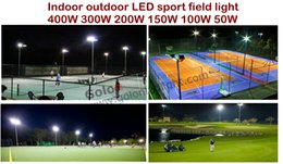 Wholesale Low price outdoor indoor LED sport court lighting for tennis volleyball basketball football golf court waterproof W W