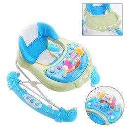 Wholesale High Quality Baby Walkers with Wheels Durable Foldable Multifunctional Baby Walker Stroller Adjustable Height Stroller JN0044 salebags