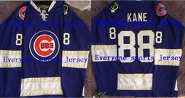 Wholesale 2016 New Patrick Kane Chicago Cubs Chicago Blackhawks Jersey Blue Mens Hockey Jersey or Custom any player for any name jerseys