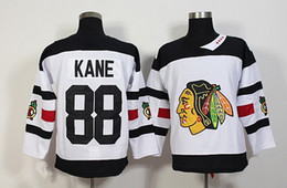 2017 série de hockey Blackhawks # 88 Kane Hockey Maillots Blanc 2016 Stadium Series Hockey Maillots Emboridered Hockey Wears Man Hockey Uniformes Hockey chandails à bas prix bon marché série de hockey