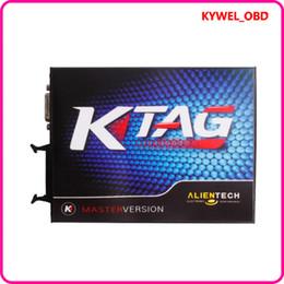Wholesale Buy V2 KTAG K TAG ECU Programming Tool Master Version with Unlimited Token Hardware V6 Get Free ECM TITANIUM V1 with Driver