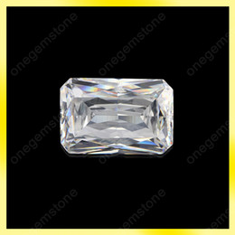 Popular octagon shape crystal jewelry can create your personalized size