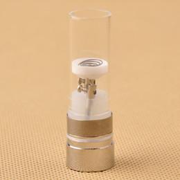 Chambre de cire d'herbe sèche à vendre-arrivée Snoop dogg atomiseurs bobine reconstructible Chambre chauffage avec tube de verre sec Herb Wax vaporisateurs stylo remplacement 0202032