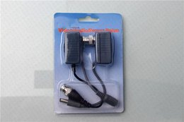 BNC Connector Video Power Balun BNC CCTV UTP Cat5 Transceiver video balun with video power input Cable
