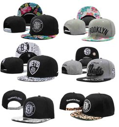 Wholesale newest mitchell and ness caps football hats snapback hats caps snapback snap back snapbacks brooklyn nets adjustable sport teams