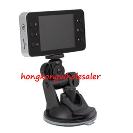 Wholesale Car DVR Recorder K6000 w Retail Box Full HD Vehicle Cameras Camcorder quot P Vehicle Black box DVR Night Version Wide Angle Lens Dvrs
