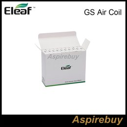 Wholesale Eleaf GS Air Coil ohm Replacement Coil Core for GS Air Atomizer Huge Vapor Tank heating coil head dual coils fit eleaf istick W