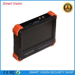 Wholesale Best selling quot AHD camera tester CCTV tester monitor AHD analog camera testing VGA HDMI input V2A output