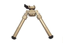 Wholesale 2016 New BT10 LW17 V8 Atlas degrees Adjustable Precision Bipod QD Mount For Rifle Hunting Mount Dark Earth DE