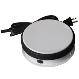 Wholesale-15KG Loading 15cm Rotary Display Stand Rotating Turntable display box shoot table