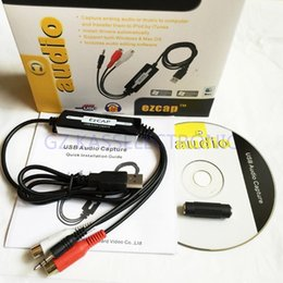 Wholesale 2015 new audio capture drivers windows convert any analog audio to MP3 WMA compatible Windows MAC