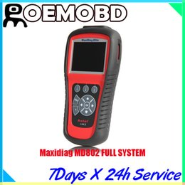 Wholesale Original Autel Maxidiag MD802 FOR Engine Transmission ABS Airbag system code scanner system Or All System