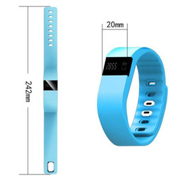 Wholesale 2016 Fitbit Flex Charge Style TW64 Smartband Waterproof IP67 Smart Bracelet Wristband Bluetooth for IOS Iphone Android Phone