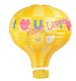 Wholesale cm inch fire balloon Paper lantern lampshade Party Craft Wedding Decoration Kid s room multi