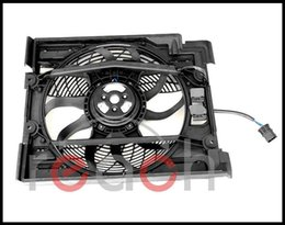 Wholesale car New Replacement AC Condenser Cooling Fan For BMW Series E39 order lt no track