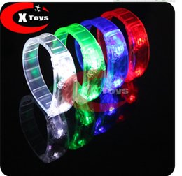 5PCS LED bracelet decoration christmas carnival festival holiday supplies party