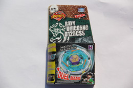 Wholesale 1 piece BEYBLADE METEL FIGHT FUSION RAY UNICORNO D125CS BEYBLADE BB71