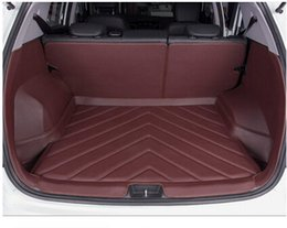 Wholesale Best quality Special car trunk mats for Hyundai ix25 wear resisting Easy to clean durable luggage carpets for ix25