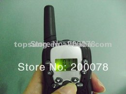 Wholesale-2015 New 99 code portable radio walkie talkie pair T388 twin talkabout handy talkie radios w  led  + t388 charger