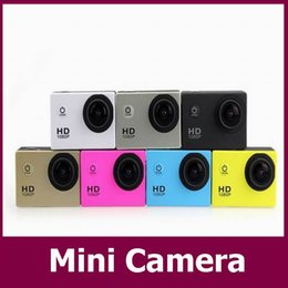 Mini grabador de vídeo resistente al agua en Línea-SJ4000 al por mayor de HD 1080P mini acción de la grabadora de vídeo 5MP COMS mini cámara resistente al agua sj5000 Sport Mini DV videocámara del coche DVR 100pcs / lot