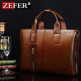 Brand Fashion men's cross section ZEFER business computer briefcase messenger bag shoulder bag man bag