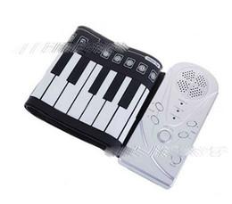 doux piano clavier de piano clavier en silicone laminé à la main roulés à la main Portable 49 Clavier de piano roulés à la main pliage WG à partir de 49 main clé roulé de piano fournisseurs
