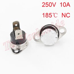 Wholesale High Quality Celsius NC Normally Closed Corner Temperature Switch V A KSD301
