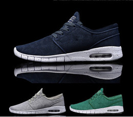 Wholesale SB Stefan Janoski Max Men s Sneakers Brand Mesh Shoes Man Walking Shoes Colors Size Top Quality