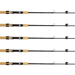SAMSFX Horizontal Fishing Rod Rack Storage Clip Fishing Rod Holders 5 Sets w  Screws & Screwdriver