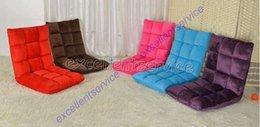 Wholesale YoHere bedroom adult folding single lazy sofa bed cushion Tatami chair deck adjustable longer beanbag office sofa