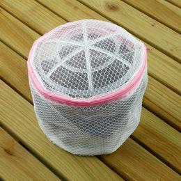 Wholesale Laundry Net Fabric - 1Pcs 120X150mm Clothes Washing Machine Laundry Bra Aid Hosiery Shirt Sock Lingerie Saver Mesh Net Wash Bag Pouch Basket Saver