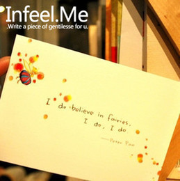 Wholesale-[Infeel.Me] It is not just a fairy tale The Little Prince literary fairy tale postcard 8 into fresh^greeting card