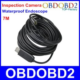 Wholesale New Arrival USB Endoscope Photo Shooting Video Recording Inspection Camera M Snake Tube Borescope Diameter mm Camera Head
